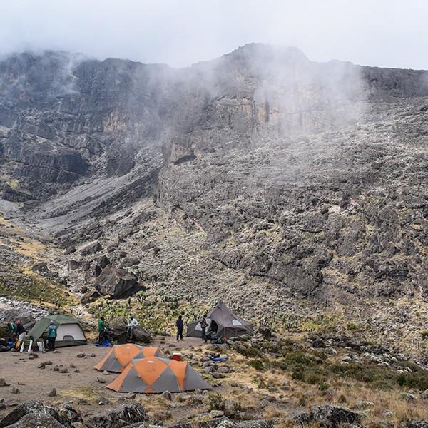 kilimanjaro from barafu camp