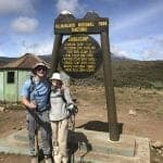 Gerry and Sarah's blog detailing their Kilimanjaro climb with Peak Planet