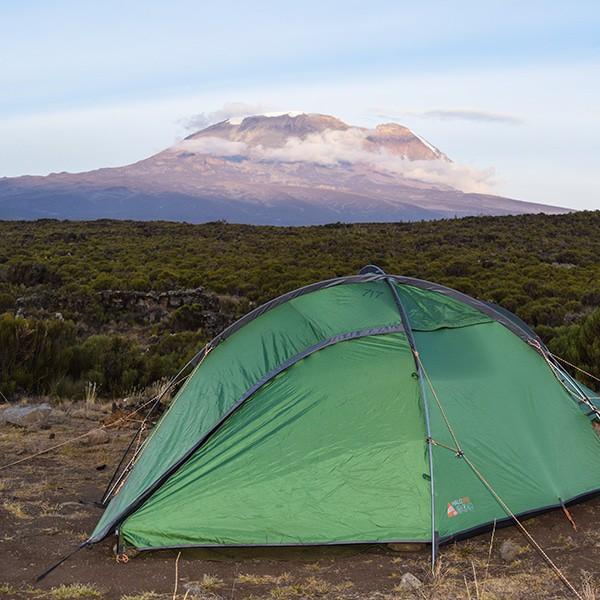 tent on kilimanjaro
